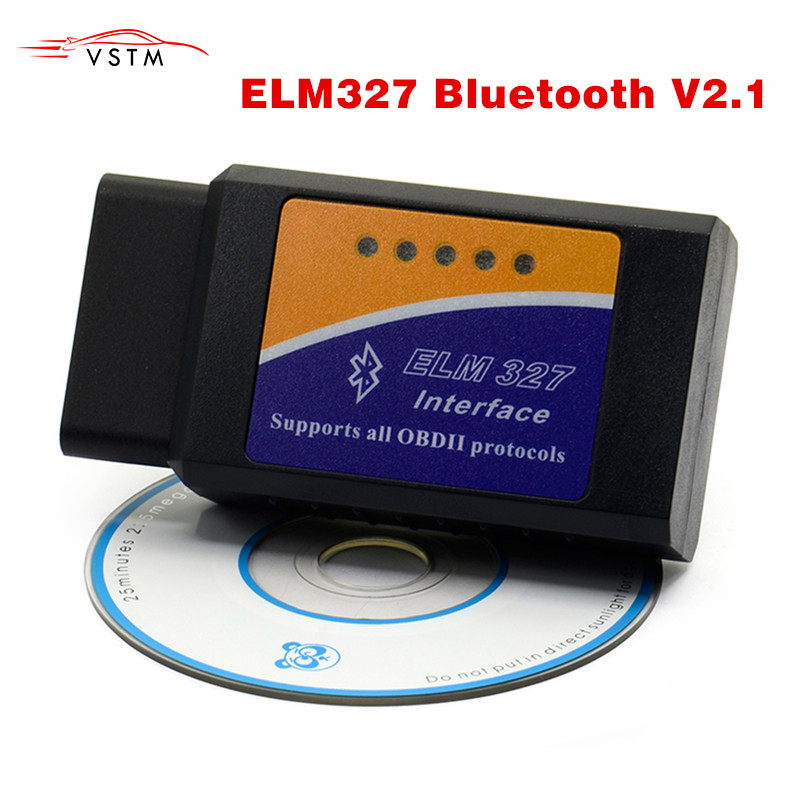 ELM327 OBD2 V2.1 Bluetooth diagnose auto Scanner Ulme 327 Obd2 Scanner Auto Diagnose-Tool Wireless Für Android