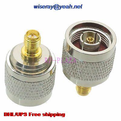 DHL/EMS 100pcs Adapter RPN Male To RPSMA Female Straight RF COAXIAL With One Year Warranty -a4