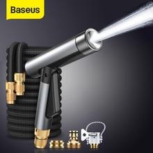Baseus רכב מכונת כביסה אקדח בלחץ גבוה צינור שואב מכוניות קצף לשטוף אקדחי ריסוס אוטומטי גן מקלחת ניקוי כביסה כלים