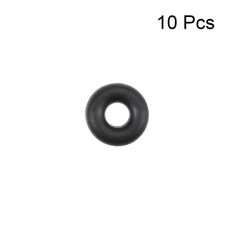 uxcell O-Rings Nitrile Rubber 16mm Inner Diameter 21mm OD 2.5mm Width Round Seal Gasket 50 Pcs
