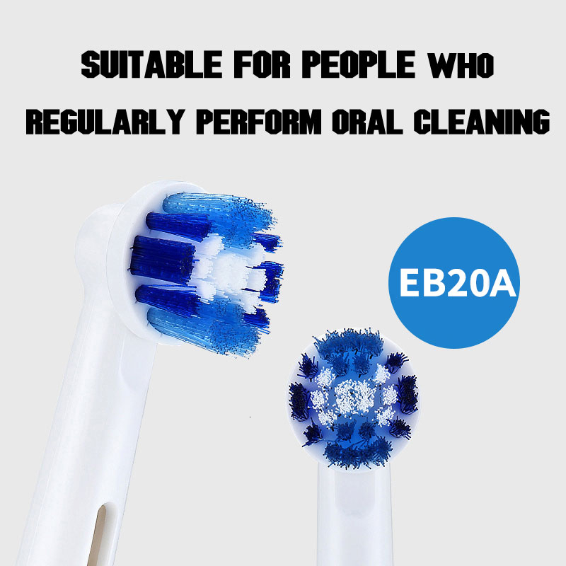 Oral B Electric ToothBrush Heads For Rotary Electric Toothbrush Replaced Teeth Brush Head 4pc/Pack Or 8pc/Pcak