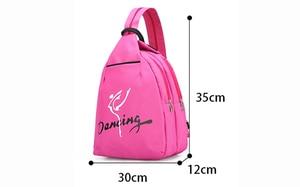 Image 2 - Child Kids Pink ballet bag Backpack Waterproof canvas Ballet Dance Bags Pink Ballerina Ballet Gift