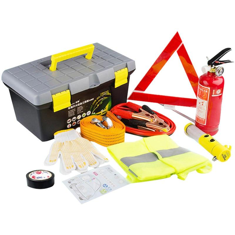 Optimus Car Supplies Tool Kit Car Mounted Emergency Rescue Bag Wholesale Vehicle Safe Maintenance Extinguisher
