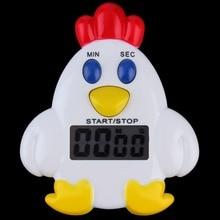 1 шт., мини пластиковая автопоилка для куриц, домашний кухонный таймер, 99 минут, 59' механический таймер для приготовления пищи, сигнализация, Колокольчик для выпечки, напоминание, популярная новинка
