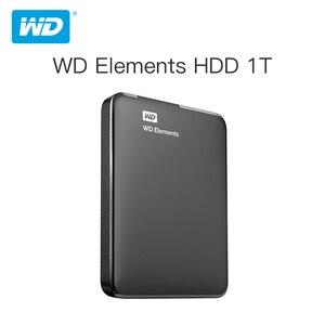 Western Digital WD Elements Portable External hdd 2.5 USB 3.0Hard Drive Disk 1TB 2TB Original for PC laptop