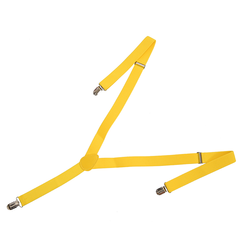 Men's Braces - 37x1 Inch Yellow