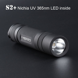 UV Led flashlight Convoy S2+ w