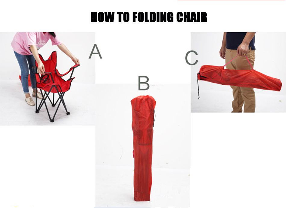 Myj dobrável cadeira de acampamento cadeira portátil
