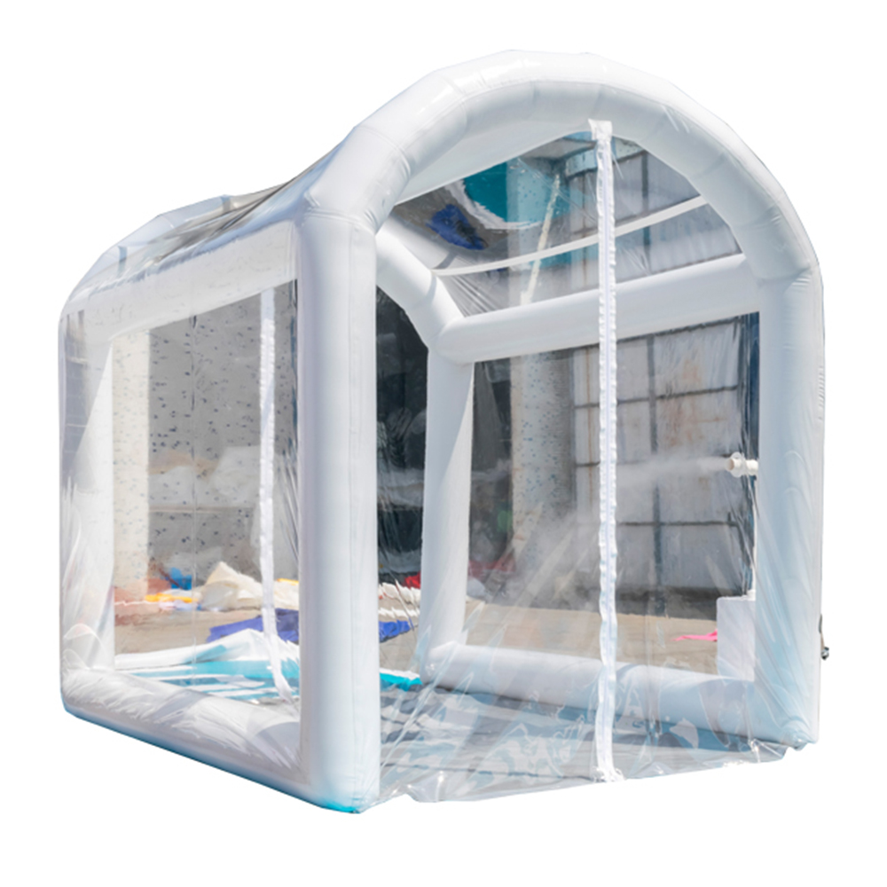 Airtight Inflatable Disinfection Tunnel, Public Scene Disinfection System, Portable Sterilizing Tent, Transparent Tent