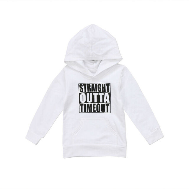 Unisex Autumn Winter Hooded casual Sweatshirt Infant Baby Boys Girls Cotton long sleeve Hoodies with Muff Pockets 2