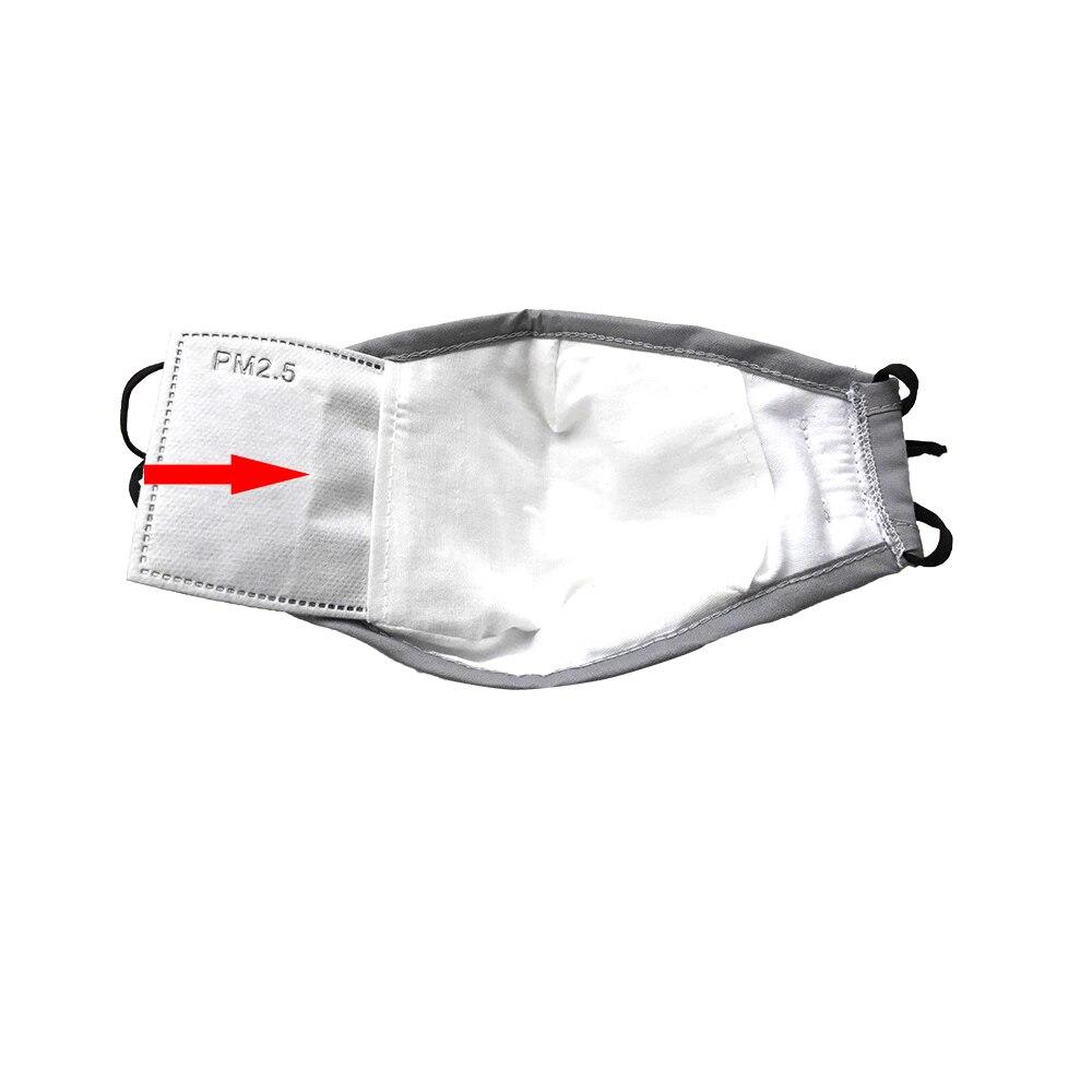 Пятислойная Маска дыхательный клапан Маска Mascherine Антивирусная фильтрация PM2.5 маски для лица Маска Антивирусная пыль Mascaras респиратор