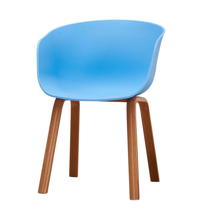 Chaises en plastique modernes en fer forgé PP dinant des chaises pour des salles à manger meubles de Restaurant réunion chambre cuisine chaises en plastique