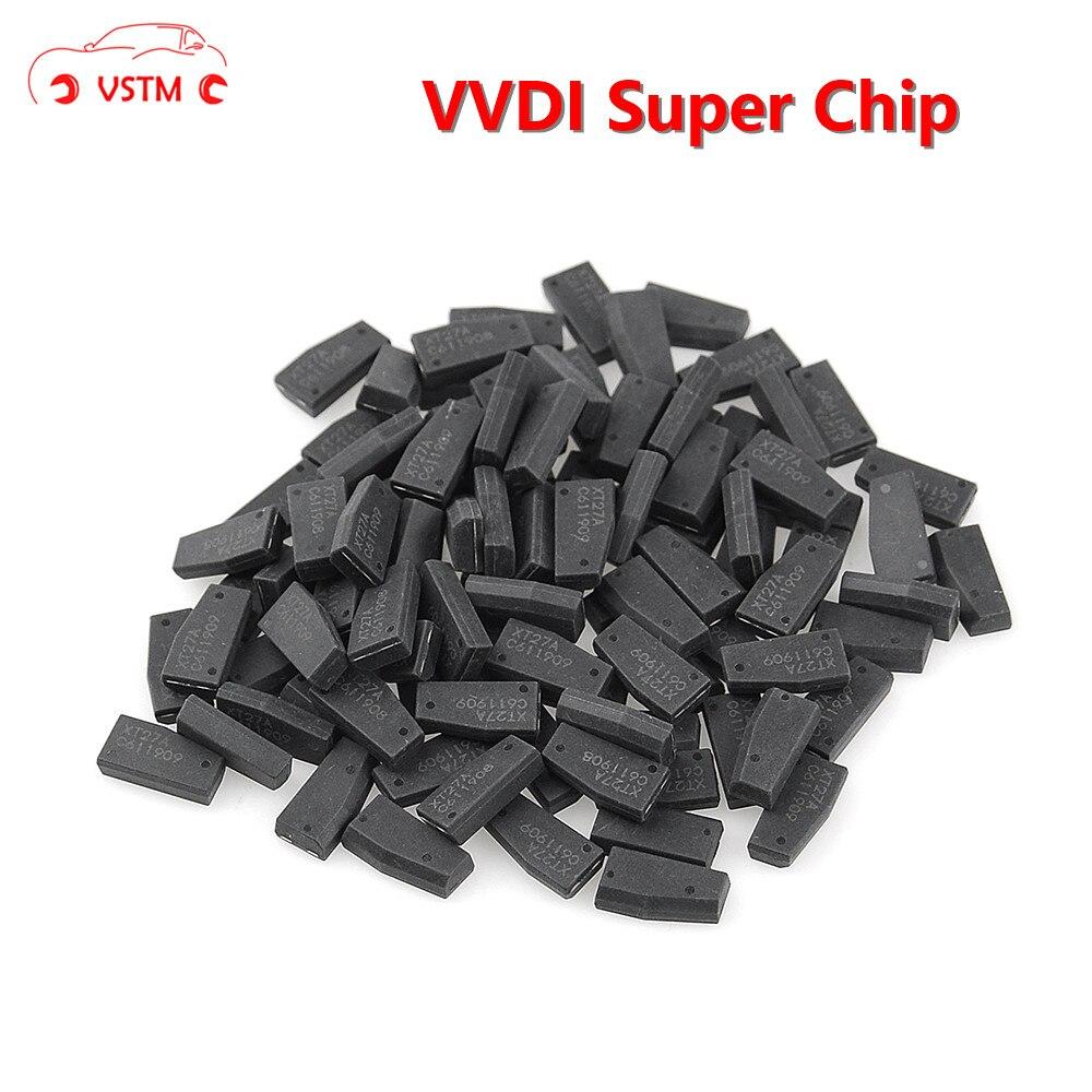 Оригинальный транспондер Xhorse VVDI Super Chip 10 шт./лот для чипа ID46/4D/4C/8C/8A/T3 H для ключей VVDI2 VVDI и мини-ключей