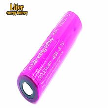 цена на High Quality original 18650 Battery Listman 3000mah 40a Li-Mn battery for Electronic Cigarette box mod Vaporizer Mod vape