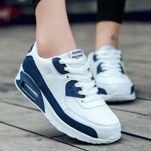 Размер 36-47 обувь flynit man Air cushion белые кроссовки женские scarpe donna кроссовки спортивная обувь Женские Кроссовки zapatillas hombre