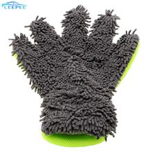 Soft Car Cleaning Car styling Microfiber Window Wash Tool Car Washing Gloves Car Accessories Auto Care Detailing Home Cleaning