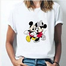 Minnie Mouse T Shirt New Women Disney Tshirt Funny Top Tee Fashion Female Clothes T-shirts Dropship