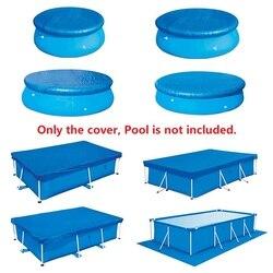 Nakrycie basenu mata gruntowa wysokiej jakości odporna na promieniowanie UV poliestrowa osłona przeciwdeszczowa osłona przeciwpyłowa akcesoria do basenów