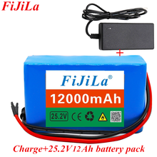 Battery-Pack Electric Bicycle 12000mah Lithium-Ion 6s2p 18650 Charger 24V Moped