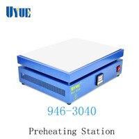 Uyue 946-3040 300mm * 400mm estação de pré-aquecimento para ic  tablet pc  reparo do telefone pré-aquecimento bga reparação