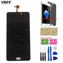 """5.5"""" LCD Display Touch Screen For LEAGOO T5 T5C LCD Display Touch Screen Accessories Repair Part + Tools Protector Film"""