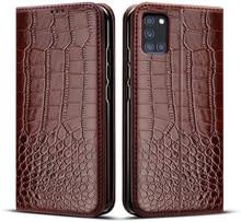 Чехол для Samsung Galaxy A31, чехол для Samsung A31, чехол для телефона с диагональю 6,4 дюйма, силиконовый откидной кожаный чехол с держателем для карт