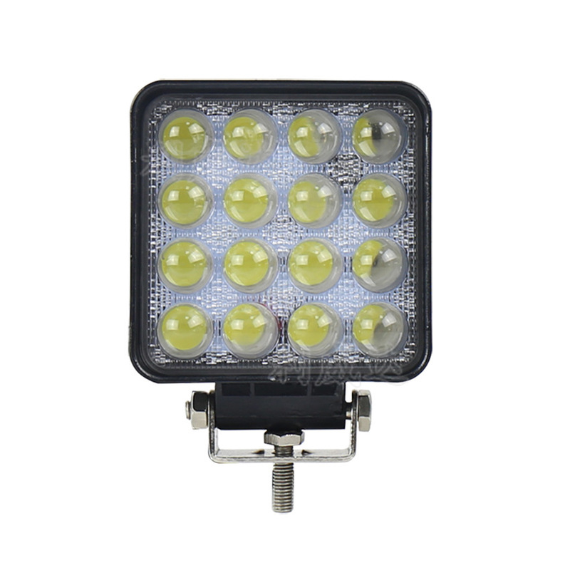 The Vectra Concentrated Floodlight Led Work Light Square Car Repair Car 48 W Lamp Lens To Shoot The Light