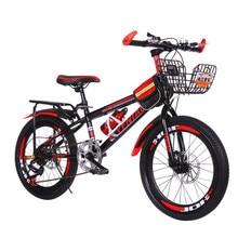 22 polegada 7 velocidade mtb mountain bike para homens mulheres meninos meninas estudantes amortecedores de bicicleta portátil com paralama