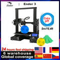CREALITY 3D принтер Ender 3/Ender-3 DIY Kit большой размер I3 3D Ptinter Resume Power Failure Printing MeanWell Power