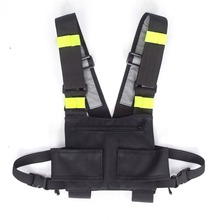 Walkie Military Walked Nylon Belt Package Support Rig Tactical Breast Green Functional Base Radio Holster Scholarship