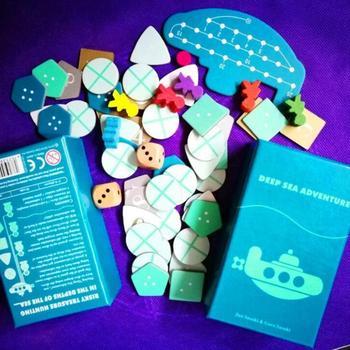 2-6 jugadores de Deep Sea Adventure Game, el mejor regalo para niños, divertido juego de inglés para Familia/Fiesta, regalo de entretenimiento