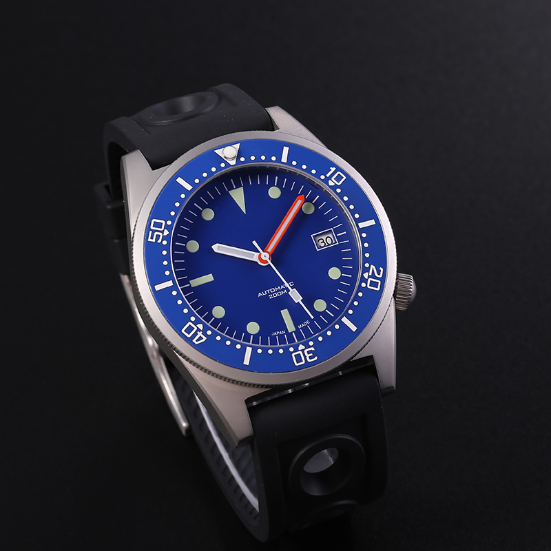 STEELDIVE 200m Dive Watch Mechanical Sapphire Crystal Ceramic Bezel NH35 Watches Sport Automatic Mechanical For Men Watch Steel(China)