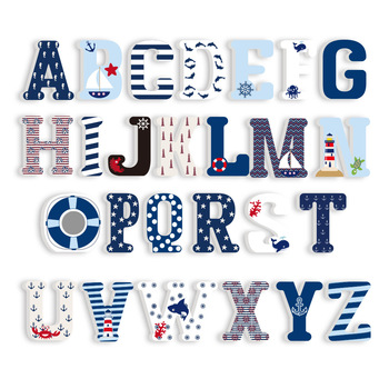 3D PVC Uppercase English Alphabet Letter Stickers Kid's Room Decoration Kindergarten Playground Nursery Decorative Letters 1