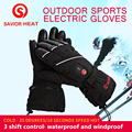 SAVIOR Winter Men Women Ski Gloves Rechargeable Battery Heated Gloves for Skiing Mortorcycle Riding Hiking Fishing Hunting 2020