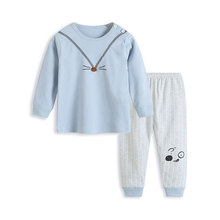 цена на Fashion Toddler Kids Baby Girls boys Clothing Set Long Sleeve T-shirt + Pants Tracksuit 2Pcs Outfits Baby Girl Autumn Clothes