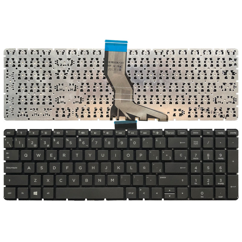 Zahara Laptop US Keyboard Backlit Replacement for HP Pavilion 15-p114dx 15-p043nr 15-p140nr 15-p042nr 15-p150ca 15-p037cy 15-p164ca 15-p036cy