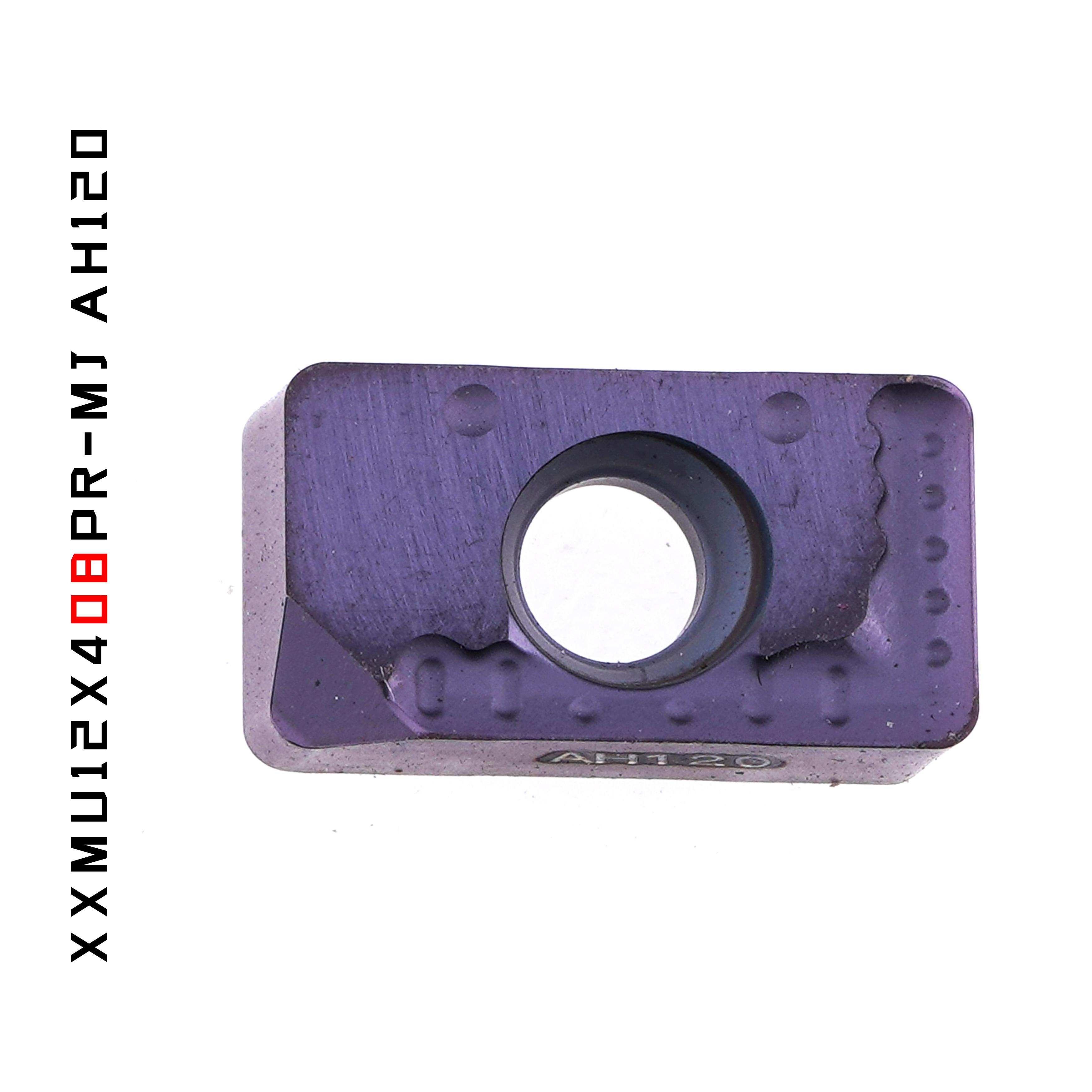 Tungaloy XXMU12X408PR-MJ AH120 plaquettes carbure 10 pièces