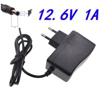 12.6V 1A 18650 Lithium Battery Charger 12V 1A Screwdriver Portable Wall Charger DC 5.5 * 2.1 MM image
