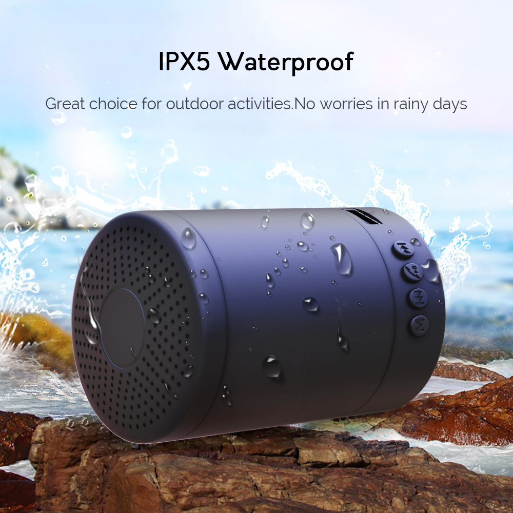 Portable Speaker Macaron Bluetooth Speakers Stereo Wireless Loudspeaker Mini Column Music Bass 5W Outdoor Speaker Waterproof