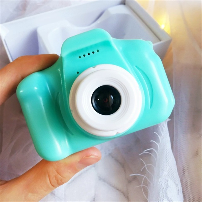 Kids Girls Boys Gift Children's Camera 1080P HD Screen Camera Video Toy Kids Cartoon Cute Camera Outdoor Photography 32GB