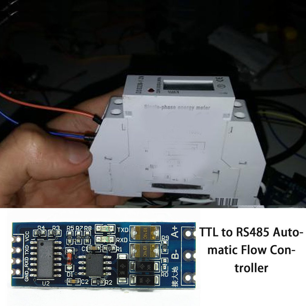 Купить s485 к ttl модулю rs485 преобразователь сигнала 3 в 55 в изолированный