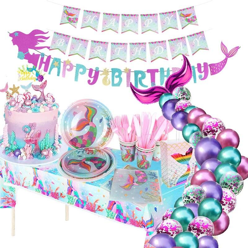 Воздушные шары «хвост русалки», «хвост русалки», «Русалочка», «День рождения», «русалка»
