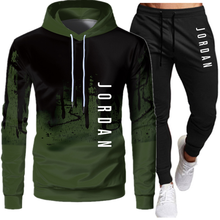 2020 New two piece set, Men's sweatshirt, Hoodie and pants, top, Sportswear, Casual suit, s-4XL Fitness clothing trousers