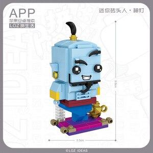 Image 5 - Mini klocki LOZ zabawka z klocków śnieżka lalka księżniczka dziewczyna postać figurki montaż budowlany klocki zabawkowe edukacyjne