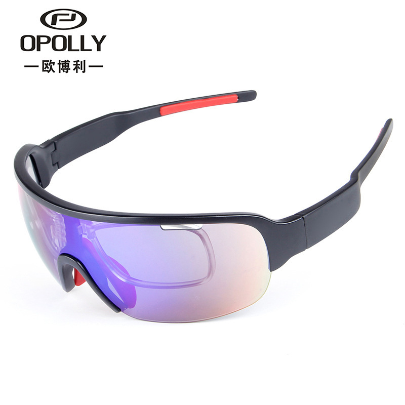 Manufacturers Direct Selling POC Half-frame 5 PCs Sports Windproof Sand Reflective Lenses Men And Women Fashion Multi-functional