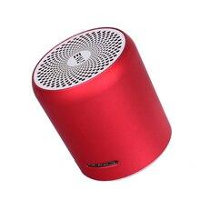 EWA A107S głośnik Bluetooth przenośne metalowe głośniki hi fi TWS bezprzewodowy odtwarzacz muzyczny mocny dźwięk głośnik karty SD