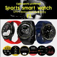 Bluetooth 4.0 Full Round High definition IPS Touch Screen MT2503 Chip Smart GPS Sports Watch Phone for IOS Android Samsung
