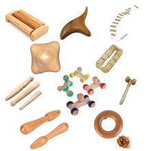 1Pc Wood Roller Massager Body Foot Reflexology NEW Shiatsu Therapy Meridians Massager Health Care Multi Style NEW