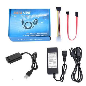 Cable adaptador convertidor SATA/PATA/IDE a USB 2,0 para disco duro, 2,5