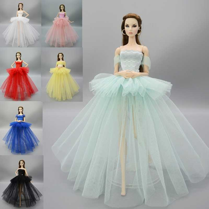 1/6 SD Toys For Children BJD  Doll Clothes Handmade Colored Dress Dolls Accessories Pretty Princess Dress Princess Wedding Dress